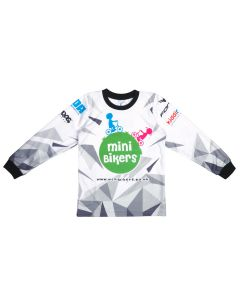 Minibikers Kids Cycling Jersey / 6 - 7 years