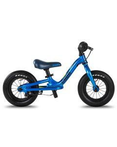"Cuda Runner 10"" Balance Bike, Lightweight Kids Balance Bikes-Blue"