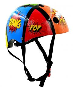Kiddimoto Comic Kids Cycling/Skateboarding Helmet