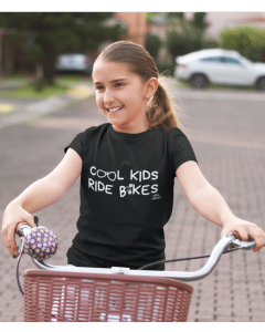 Cool Kids Ride Bikes, Cycling T-Shirt