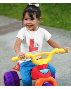Learner Tee, Kids Cycling T-Shirt