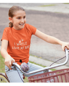 I Wheelie Love My Bike - Kids Cycling T-Shirt
