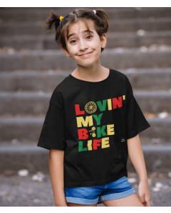 Lovin' My Bike Life - Kids Cycling T-Shirt