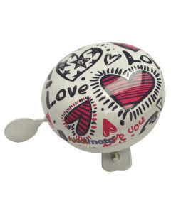 Kiddimoto Love Kids Bicycle Bell, Small