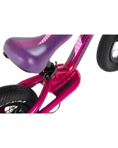 "Cuda Runner 14"" Balance Bike, Lightweight Cuda Balance Bikes-Purple"
