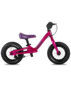 "Cuda Runner 10"" Balance Bike, Lightweight Kids Balance Bikes-Purple"
