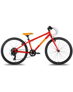 Cuda TRACE 24″ Junior Pedal Bike 2021, Hybrid Bike.-Orange