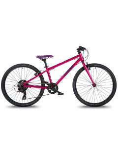 Cuda TRACE 24″ Junior Pedal Bike 2021, Hybrid Bike.-Purple