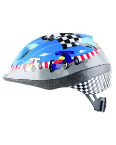 ETC Race Car Junior Helmet Blue, 52 - 56cm Medium