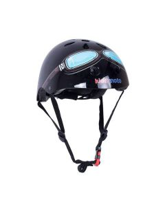 Kiddimoto Black Goggle Kids Cycling/Skateboarding Helmet