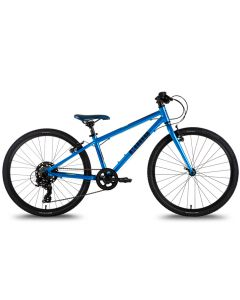 Cuda TRACE 24″ Junior Pedal Bike 2021, Hybrid Bike.-Blue