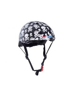 Kiddimoto Skullz Kids Cycling/Skateboarding Helmet