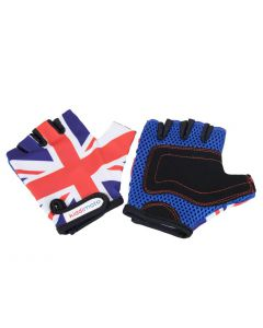 Kiddimoto Union Jack Kids Cycling Gloves