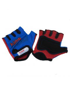 Kiddimoto Blue Cycling Gloves