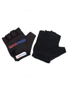 Kiddimoto Black Cycling Gloves